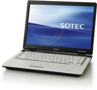 SOTECノートPC「DN3000」