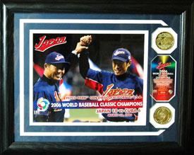 「第1回 World Baseball Classic」の記念メダル付きパネル