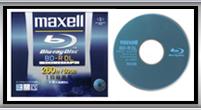 Maxell社製BD-R BDR50V.1P