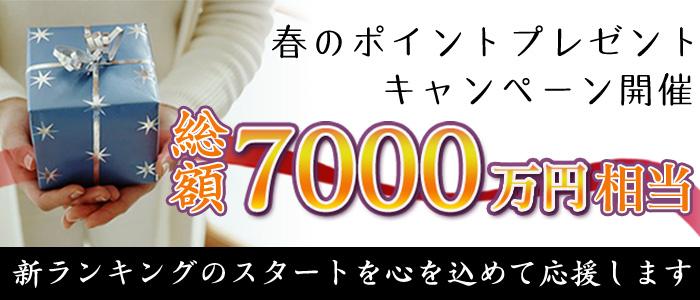 春のポイントプレゼント キャンペーン開催 総額7000万円相当 新ランキングのスタートを心を込めて応援します